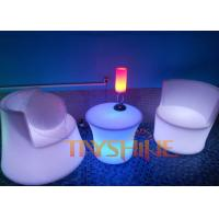 Hotel bar illuminated patio furniture sets with color for How to change color of furniture