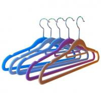 Wholesale Flocked Clothing Hanger (LD-S014) from china suppliers
