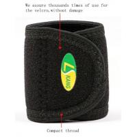 Wholesale neoprene laminated with OK terry fabric High Breathable,Sweat-absorbent Wrist Band support from china suppliers