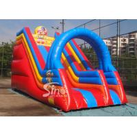 Wholesale Popular children happy clown inflatable slide with arch full digitally printed from china suppliers