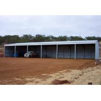 Prefabricated Structure Steel Shed With Gable Roof Or Mono-pitch Roof