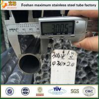 Wholesale Inox stainless steel round pipe tubing 316 ASTM A554 tube from china suppliers