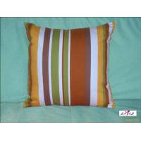 Small Brown Decorative Pillows : Small Brown Stripe Plain Custom Decorative Pillows for Bed of item 90553820