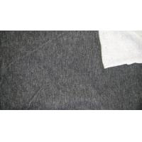 Quality Cotton polyester spandex knitted denim fabric French Terry Fabric for sale