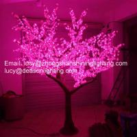 Wholesale Led artificial plum blossom tree light from china suppliers