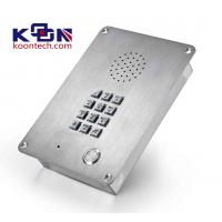 Wholesale Public IP65 Weatherproof Emergency Phone Handsfree Stainless Steel from china suppliers