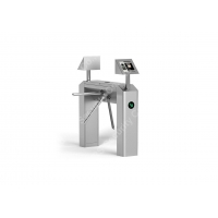Wholesale Automated security Waist Height Turnstiles 304 Stainless Steel Material from china suppliers
