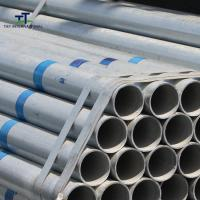 Wholesale Hollow Section Hot Dip Galvanized Steel Pipe Zinc Coated Heavy Duty For Gas Oil Pipeline from china suppliers