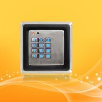 Wholesale Smart Home Access Control Card Reader With Password , Metal Material Case from china suppliers