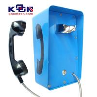 Wholesale Metal Weatherproof Public Telephones Wall Mounted Handset Free CE FCC from china suppliers