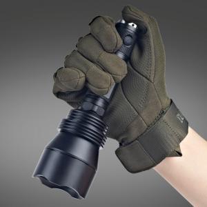 Self Defense Lumintop T5 Flashlight , Big Attacking Head High Intensity Flashlight