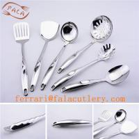 6 piece dining table set stainless steel cooking tools of for Kitchen tool set of 6pcs sj