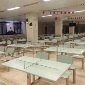 China Cafeteria anti - spray acrylic isolation sheet on sale