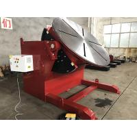 Buy cheap 10 T 2 Axies Welding Turn Table , Foot Pedal Tilting Rotation Arc Welding Table from wholesalers