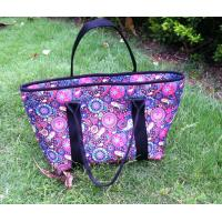 Wholesale neoprene Mom's tote bag with several nylon liner pockets insided for feed bottles, tissues from china suppliers