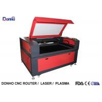 Wholesale Red Color CO2 Laser Engraving Machine with Leetro Control System For Acrylic / Wood from china suppliers
