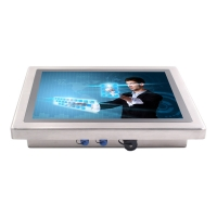 Wholesale SUS304 Frame15 Flat Screen Waterproof LCD Monitor 4:3 Aspect Ratio from china suppliers