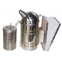 Wholesale European Bee Smoker With Inner Tink M .L Size from china suppliers