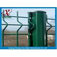 Wholesale Red / Green Pvc Coated Wire Mesh Fencing / Wire Garden Fence from china suppliers