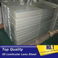 Wholesale 25lpi PS lenticular board 3d lenticular lens sheet for 3d lenticular printing products from china suppliers