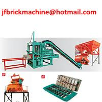 Cameroon Stationary Cement Block Making Machine With Best