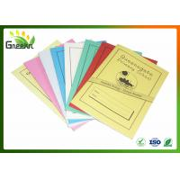 Wholesale A5 210mm * 148mm Size Inner Lined Exercise Books for Education Institutions from china suppliers