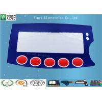 Wholesale 0.15mm PC Film Push Button Membrane Switch Keypad High Gloss With Silver Contact Point from china suppliers