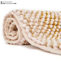 Wholesale Recycle Super Water Absorbent Shaggy Fluffy Chunky  Chenille Bath Mat from china suppliers