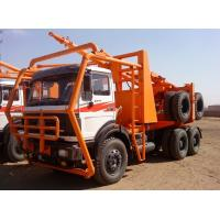 Buy cheap Beiben 6x6 logging truck 2638 for Africa timber transport truck from wholesalers