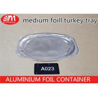 Wholesale 1400ml Volume Disposable Aluminum Foil Pans Oval Shape Turkey Pan Dish from china suppliers
