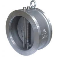 Wholesale Carbon Steel Cast Check Valve Wafer Ends Double Disc 100% Leak Proof Sealing from china suppliers