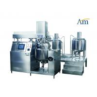 Jet Type Vacuum Emulsifying Machine With Large Vane Mixer SUS304 / SUS316L Material