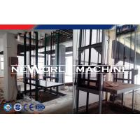 Wholesale Gray Hydraulic Lift Platform With CE Certification / Fixed Cargo Lift Guide Rail from china suppliers