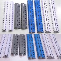Wholesale Slotted Steel Angle Shoe Rack Metal Angle from china suppliers