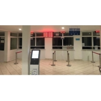 electronic queuing system solution installation case