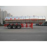 Wholesale Gas Tanker Semi Trailer 39500L Capacity For Transport Propylene Oxide Liquiefied Property from china suppliers