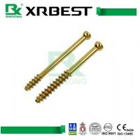 China Cannulated Compression Bone Screws Orthopedic Implants with titanium / Stainless Steel wholesale