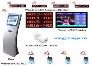 Wholesale Multiple service queues and waiting areas LCD Counter Display Smart Queue Management System from china suppliers