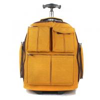 Wholesale Yellow Outdoor Sports  Travel Trolley Bags Polyester Material Numerous Styles from china suppliers
