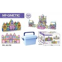 Wholesale 168 Pcs Magetic Plastic Building Blocks Educational Toys / Construction Building Sets Toys from china suppliers