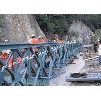 Wholesale 200 Type Permanent Galvanized Surface Treatment Steel Bailey Bridge Double Rows Bridge from china suppliers