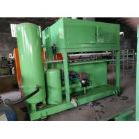Buy cheap Green Paper Pulp Molding Machine , Paper Egg Tray Making Machine With Computer from wholesalers