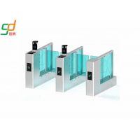 Wholesale Slim Supermarket Swing Gate,900mm Width Entrance  Glass Arm Turnstiles from china suppliers
