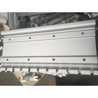 Wholesale Silver Color Industrial Aluminum Profiles With CNC Drilling from china suppliers