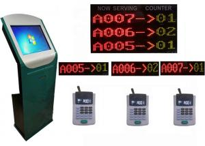 Wholesale IR Touch Panel Dustproof Service Center Queue Ticketing System from china suppliers