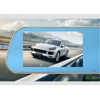 Wholesale 1080P Dual Camera Full HD Rear View Mirror GPS DVR FM G-sensor  GPS Navigation from china suppliers