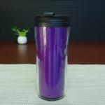 Wholesale Double Wall 450ml Logo Custom Magic Mug , Heat Sensitive Plastic Mug from china suppliers