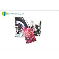 China Colorful Printed Stand Up Bags Lamination Plastic Foil Ziplock 120mic on sale
