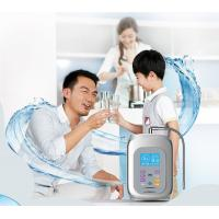 2017 alkaline water ionizer with 9999liter inner filter with touch control with voice and 100% kangen water outlet