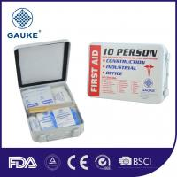 Wholesale Outdoor 10 Person Kids OSHA ANSI First Aid Kit Mini First Aid Pack With PP Box from china suppliers